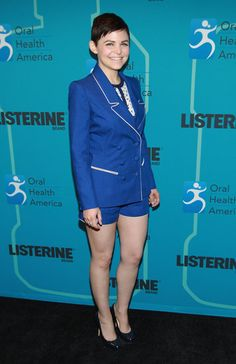 Ginnifer Goodwin wore Spring 2013 Misha Nonoo at the Listerine event in New York.