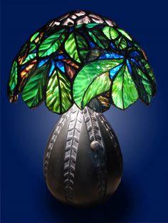 Mary Harris using Uroboros Herringbone Art Glass
