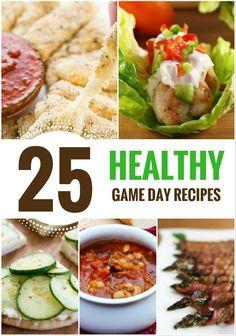 Healthy Game Day Recipes, healthy super bowl recipes, super bowl appetizers, super bowl meals, football, recipes for sports parties, party food, healthy appetizers
