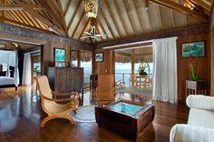 Hilton Bora-Bora Nui Overwater Suite-Interior