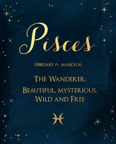 Pisces the Wanderer: Beautiful, mysterious, wild & free Pisces the Wanderer: Beautiful, mysterious, wild & free<br> Pisces Fish, Pisces And Aquarius, Pisces Traits, Astrology Pisces, Zodiac Signs Pisces, Pisces Quotes, Zodiac Sign Traits, Pisces Woman, My Zodiac Sign