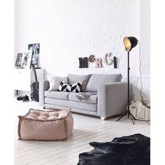 Schlafsofa, Clean chic, Bezug Baumwollmischgewebe Vorderansicht