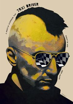Altenrative poster for 'Taxi Driver' a film by Martin Scorsese starring Robert De Niro Martin Scorsese, Design Graphique, Art Graphique, Poster Design, Graphic Design, Movie Synopsis, Kino Film, Alternative Movie Posters, Cinema Posters