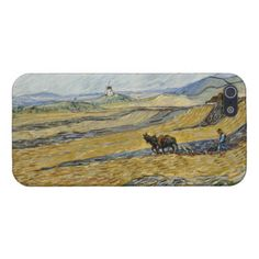 Enclosed Field with Ploughman by Vincent Van Gogh Case For iPhone 5