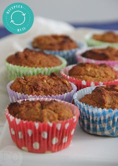 Gingerbread muffins from coconut flour - FoodQuotes - Gingerbread muffins coconut flour - Healthy Cake, Healthy Sweets, Healthy Baking, Healthy Food, Breakfast On The Go, Best Breakfast, Cake Recipes, Dessert Recipes, Desserts