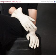 ON SALE 20% Off Felted gloves  wedding accessories  by vilnone