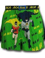 Batman 66 Running Duo Boxer Shorts