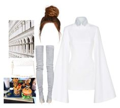 """Poker Face"" by myfashionandeverydaystyles ❤ liked on Polyvore featuring Jacquemus, Balmain, Charlotte Russe and Elie Saab"