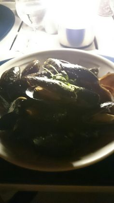 Fresh mussels #seafood