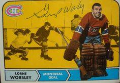 gump worsley hockey cards   Gump Worsley Hockey Cards, Baseball Cards, Hockey Stuff, Montreal Canadiens, Trading Cards, Nhl, Classic, Sports, Derby