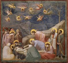 Giotto | Lamentation of the Death of Christ  1303-1305 | Fresco