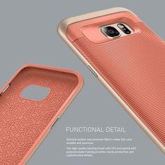 [Caseology]Galaxy S7 Edge _ Wavelength Series _ Pink/Gold #pink #gold #galaxy_case: