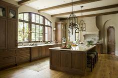 English Country - Harrison Design Home Decor Kitchen, Kitchen And Bath, Kitchen Design, Cozy Kitchen, Kitchen Ideas, Rustic Lake Houses, Harrison Design, Walnut Kitchen, Atlanta Homes