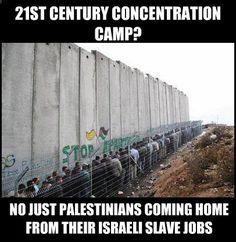 No es un campo de concentración en pleno sXXI, es Palestina bajo ocupación