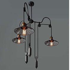 MAX 60W Traditionnel/Classique / Rustique / Vintage Peintures Métal Lustre / Lampe suspendueSalle de séjour / Salle à manger / Cuisine /