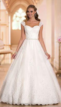 Wedding dress idea; Featured Dress: Stella York
