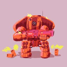 Post with 17803 views. I Animated my favorite Titans Game Character Design, Character Concept, Game Design, Character Art, Dope Cartoons, Dope Cartoon Art, Geeks, Lego Titanfall, Arte Robot