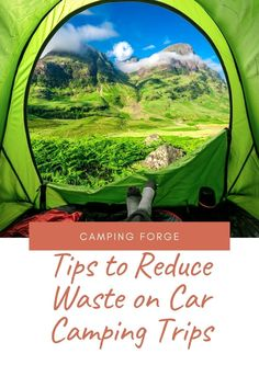Learn how to Leave No Trace even while on a car camping trip. Camping Gear, Camping Hacks, People Use You, Best Iron, Car Camper, Water Containers, Reduce Waste, Camping Essentials, Ways To Travel