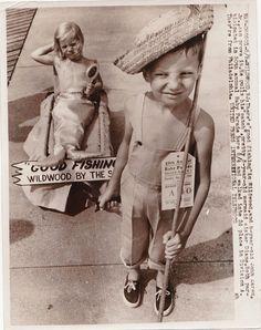 Vintage Photograph 50th Baby Parade Wildwood N.J. United Press International '60