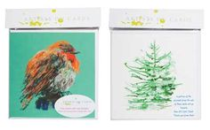 Gorgeous #Christmas cards from Artists on Cards.