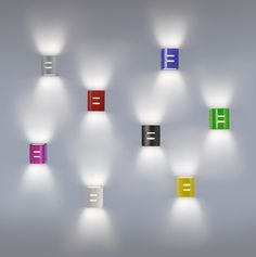 Apliques Bidireccionales Multicolor de Temporada Primavera Verano, Dale Color a tus Espacios!! #DECO #Lighting #Color