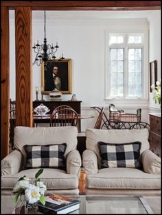 Colonial country farmhouse style decorating ideas