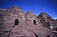 Skellig Michael, a small island off the southwest coast of Ireland, was associated with the pagan Tuatha de Danaan, a Celtic monastery and St. Fionan....
