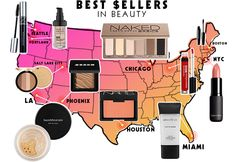 Which product is the most popular in your city? Find out from our friends at StyleCaster!