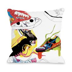 Currently inspired by: Sneakers Pillow on Fab.com