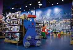 48 New Ideas Toys Shop Design Interior Kids Toy Shop, Kids Store, Toys Shop, Toy Store, Design Commercial, Commercial Interiors, Visual Merchandising, Toy Room Organization, Retail Store Design