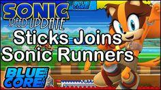 Sticks The Badger Joins Sonic Runners