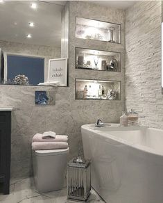 Hope you've all had a lovely start to 2019 We've literally slobbed on the sofa a. - Home Design Modern Bathroom Design, Bathroom Interior Design, Interior Decorating, Bathroom Inspiration, Home Decor Inspiration, Home And Deco, Beautiful Bathrooms, Home Design, Home Renovation