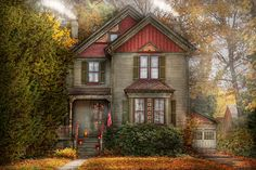 Victorian - Cranford Nj - Only The Best Things  Fine Art Print