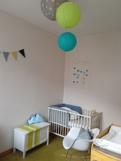 DIY décoration chambre bébé. Réalisation ClaireDeLune
