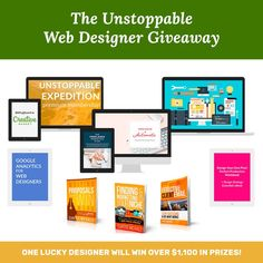 Unstoppable Web Designer Giveaway! http://itz-my.com