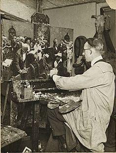 Gurney Journey: Dean Cornwell, American illustrator and painter.