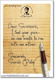 LOL Sarah Palin