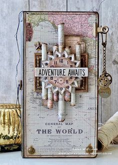 Adventure Awaits Journal - created by Emma Williams for Simon Says Stamp Monday Challenge Blog