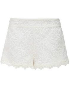 Short gasa bordado-Blanco EUR24.19