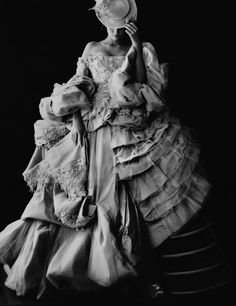 John Galliano for Dior haute couture FW 2007  Marie Antoinette  style  JW