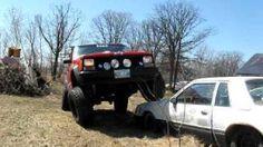 jeep flexing