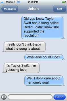Les Miserables and Taylor Swift do not mix. (Ironic, because Taylor Swift was a contender for Eponine. But, you probably already knew that.)