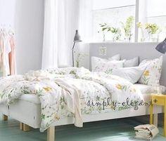 IKEA Duvet STRANDKRYPA Comforter Cover Country Floral Quilt cover set Botanical