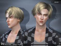 Hair NTF925 F/M by Wings Sims at TSR via Sims 4 Updates                                                                                                                                                                                 Más