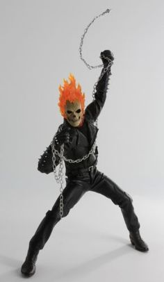 Custom-1-6-Ghost-Rider-Costume-with-Lighting-Head-Sculpt-For-Hot-Toys-Body