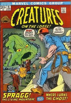 Creatures on the Loose by Gil Kane