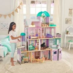Purple Princess Loft Beds For Girls 8 Year Old Girl