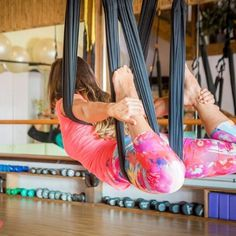 Come check out Aerial Yoga Play today at with ! No experience necessary. Aerial Silks, Aerial Yoga, Air Yoga, Personal Training Studio, Pole Fitness, Pole Dancing, Maui, Namaste, Pilates