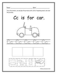 Beginning Sounds A-Z PackThis is a 26 page packet on beginning sounds. Kindergarten Language Arts, Kindergarten Reading, Kindergarten Classroom, Alphabet Activities, Literacy Activities, Preschool Literacy, Literacy Centers, Teaching Resources, Beginning Sounds