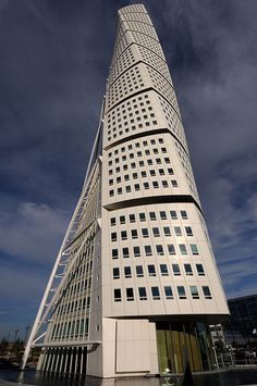 Turning Torso, Malmö, Sweden by Robban Andersson, via Flickr